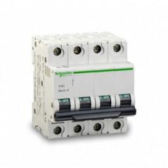Magnetotérmico 32 Amp. 4 Polos Curva B 10 Ka