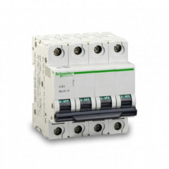 Magnetotérmico 50 Amp. 4 Polos Curva B 10 Ka