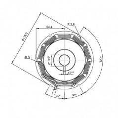 Lombardini Battery Charge Alternator - 1157158