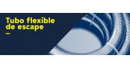 Tubo flexible de escape