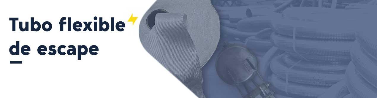 Flexible exhaust pipe