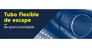 Tubo flexible de escape de acero inoxidable